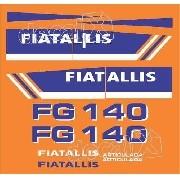 Kit Adesivos Fiatallis Fg 140