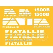 Kit Adesivos Fiatallis 1500b