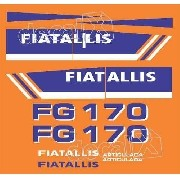 Kit Adesivos Fiatallis Fg 170