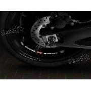 Adesivos Centro Roda Refletivo Moto Suzuki Gsxr 1300 Rd7
