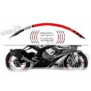 Kit Adesivo Friso Refletivo Roda Moto Bmw Fri06