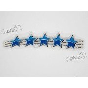 Emblema Adesivo Resinado 5 Estrelas Palio 500 Anos Plres03