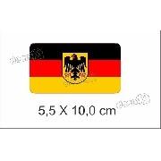 Emblema Adesivo Resinado Volkswagen Alemanha Rs05
