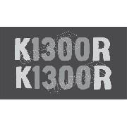 Emblema Adesivo Bmw K1300r Branca Par Bwk1300r01