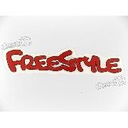Par Adesivos Ford Ecosport Freestyle Vermelho Frstlve