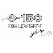 Adesivo Emblema Resinado Volkswagen 8-150 Delivery Plus Cm17