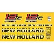 Kit Adesivos New Holland 12c Turbo Lb12c