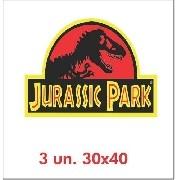 Kit Adesivo Jurassic Park Para Jeep Willys Cherokee Jp-ad1