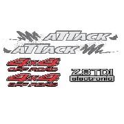 Kit Adesivos Nissan Frontier Attack 4x4