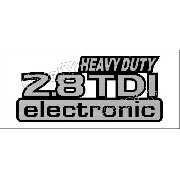 Emblema Adesivo 2.8 Tdi Electronic Frontier Heavy Dut