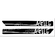 Adesivo Chevrolet Agile Faixa Lateral 3m Ag001