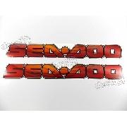 Adesivo Emblema Sea Doo Gti 130 Par Seadoo Sd1