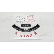 Adesivo Etiquetas Emblema Opala Opl05
