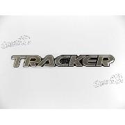 Adesivo Emblema Tracker Resinado Trk03
