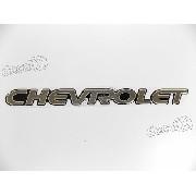 Adesivo Emblema Chevrolet Tracker Resinado Trk04