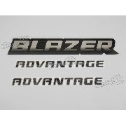 Kit Adesivo Blazer Advantage 2009 Ba001