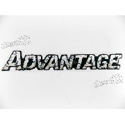 Emblema Adesivo Advantage Resinado Bar031