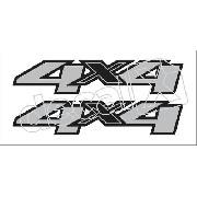 Adesivo Chevrolet S10 4x4 2012 S10001