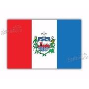 Adesivo Bandeira Alagoas Resinado 4x6cm Bd19