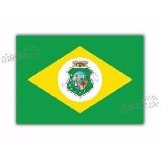 Adesivo Bandeira Ceara Resinado 4x6cm Bd23