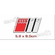 Emblema Adesivo Resinado Audi A3 Res10