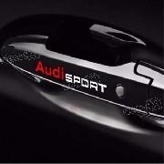 Adesivo Audi Maçaneta Aud005