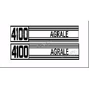 Kit Adesivos Trator Agrale 4100 10x45 Cms 4101