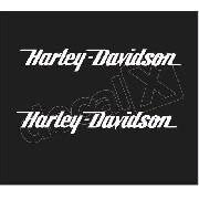 Adesivo Tanque Harley Davidson Custom Hdadt014