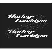 Adesivo Tanque Harley Davidson Custom Hdadt025