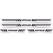 Soleira Resinada Volkswagen Voyage Sol38