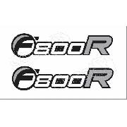 Emblema Adesivo Bmw F800r Par Bwf800r02