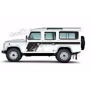 Adesivo Faixa Lateral Land Rover Defender 110 Dfndr47