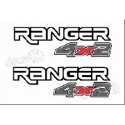 Adesivos Faixa Caçamba Ford Ranger Ran90