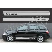 Adesivo Faixa Volkswagen Space Cross Sf004