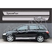 Adesivo Faixa Volkswagen Spacefox Sf003