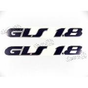 Emblema Adesivo Volkswagen Parati Voyage Gls 1.8 Ad032