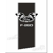 Adesivo Caçamba F250 F254