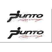 Adesivo Faixa Lateral Fiat Punto Racing Pntof10