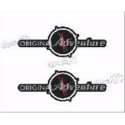 Emblema Adesivo Fiat Strada Original Adventure Par Strda36