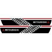 Adesivo Faixa Lateral Mitsubishi Pajero Tr4 Tr406