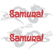 Adesivo Lateral Porta Suzuki Samurai Smrai04
