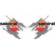 Adesivo Lateral Porta Suzuki Samurai Smrai09
