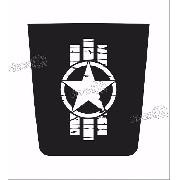 Adesivo Capo Troller Militar Cp005