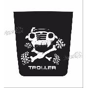 Adesivo Capo Troller Jeep Cp002