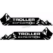 Kit Adesivo Faixa Lateral Troller Expedition 2013 Fl007