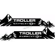 Kit Adesivo Faixa Lateral Troller Expedition 2015 Fl019