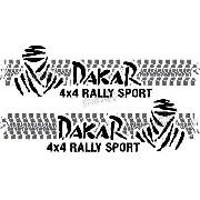 Kit Adesivo Faixa Lateral Troller Dakar 2015 Fl018