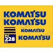 Kit Adesivos Komatsu Pc228