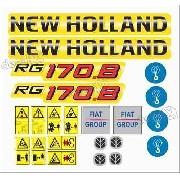 Kit Adesivos New Holland Rg170.b 3