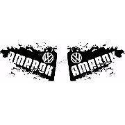 Adesivo Lateral Volkswagen Amarok Ama91